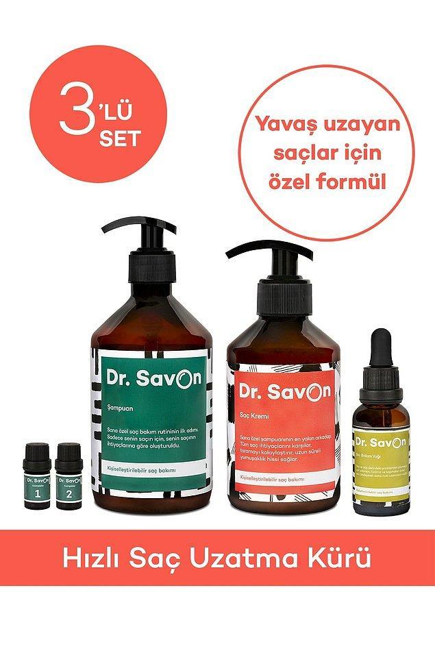 10. Saçlarının yavaş uzamasından şikayetçiysen Dr. Savon Hızlı Saç Uzatma Kürü tam da ihtiyacın olan şey.