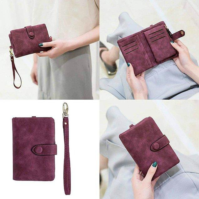 21. Chiwanji deri cüzdan çok şık ve modası hiç geçmiyor!