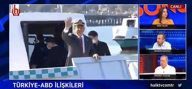 Sunucunun Dili Sürçtü Canlı Yayında Ekrem İmamoğlu'na 'Cumhurbaşkanı' Dedi