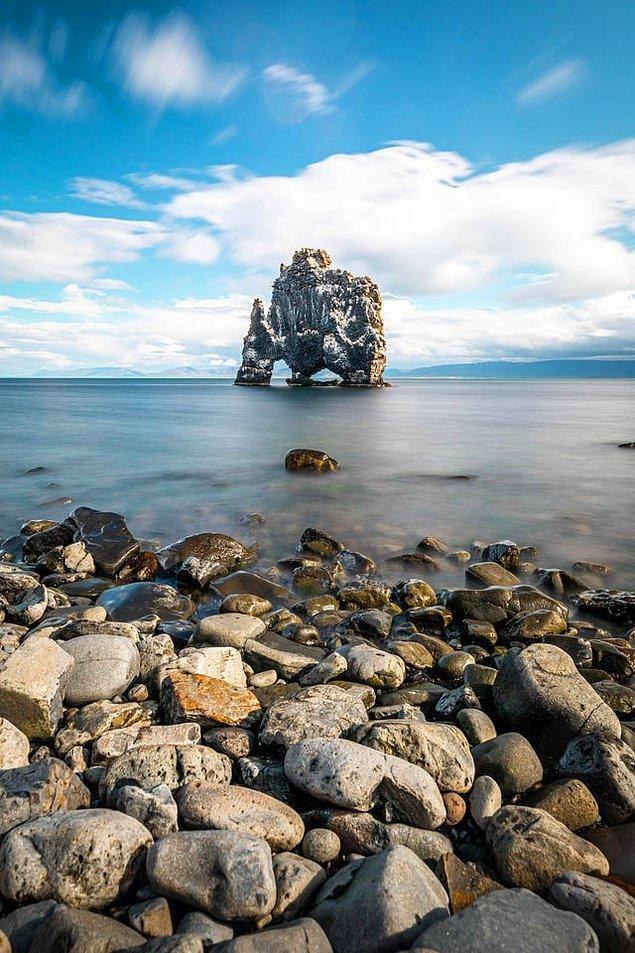10. Hvítserkur - İzlanda: