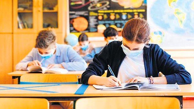 '191 okulda Kovid-19 tespit edildi'