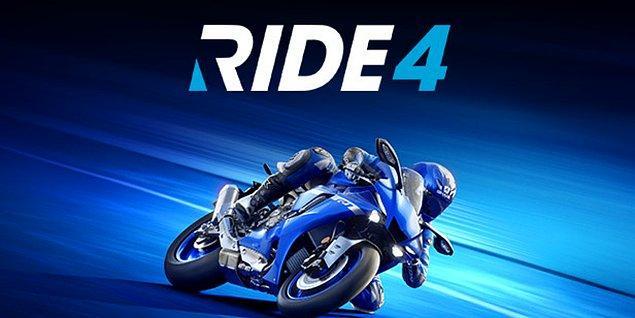 RIDE 4, bir yarış oyunu.