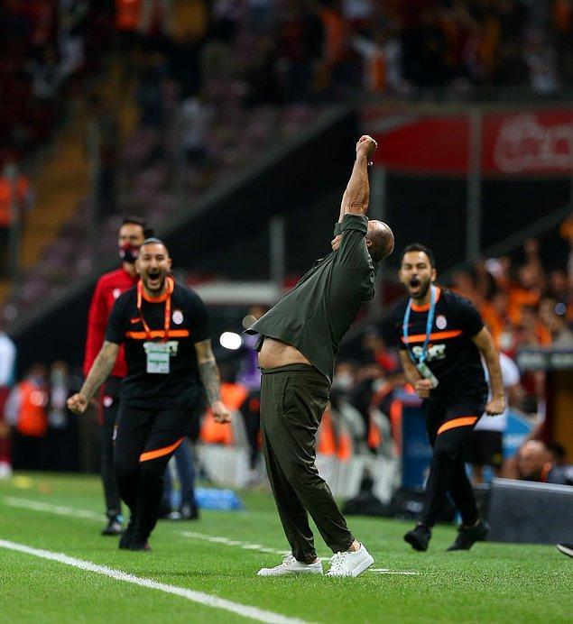 Sarı kırmızılılara galibiyeti getiren goller 49. dakikada Halil Dervişoğlu ve 56. dakikada Morutan'dan gelirken,