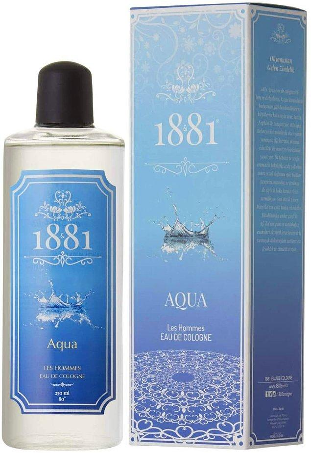 15. Okyanustan gelen zindelik: 1881 Aqua