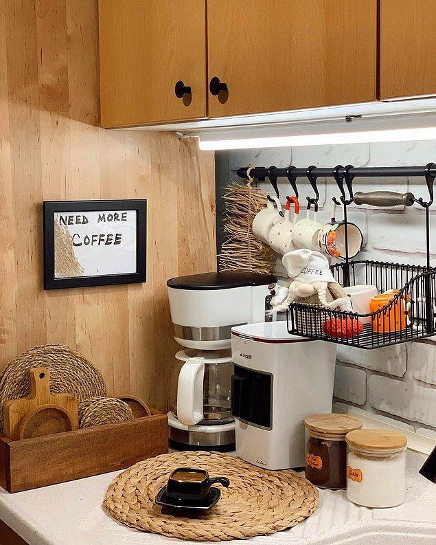 Hepimiz evimizde şu şekil kahve köşeleri hazırlamanın hayaliyle yanıp tutuşuyoruz.