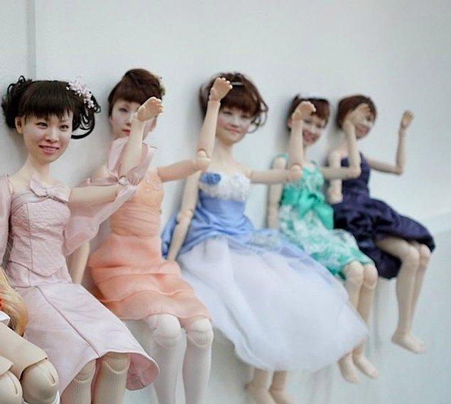 Eğer gerçek insanların yüzlerinden yapılmış klon oyuncak bebeklerle dolu bir yer istiyorsanız, Akhibara'daki klon fabrikası tam size göre!