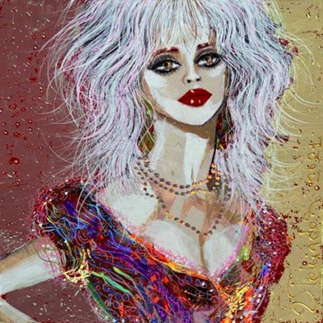 Cosette Waddingham'ın Portresi, 2021