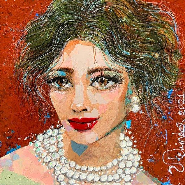 Tara May Fernandez'in Portresi, 2021