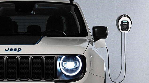Şarj süresi 2 saatten kısa süren Jeep Renegade, easyWallbox ile ev tipi şarj imkanına da sahip.