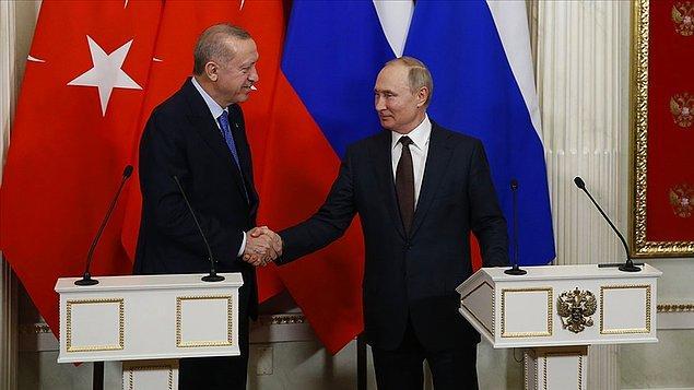 İki liderin görüşmesi başladı