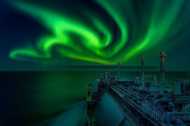 4. Kuzey ışıklarının şahane dansı: