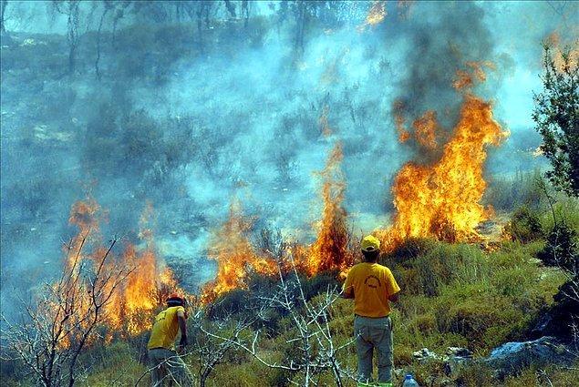 Yangınla mücadele planları eksik