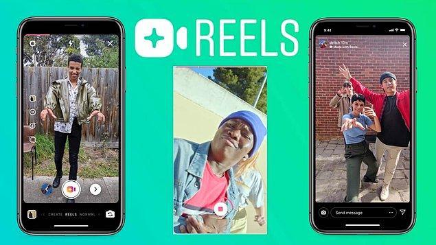 Yepyeni bir güncelleme daha getiren Facebook, Instagram'daki Reels videolarının izlenmelerine göre bir prim sistemi geliştirdi.