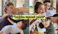 Hande Erçel'in Yeğeni Mavi ile Beraber Boy Gösterdiği En Güzel Paylaşımları