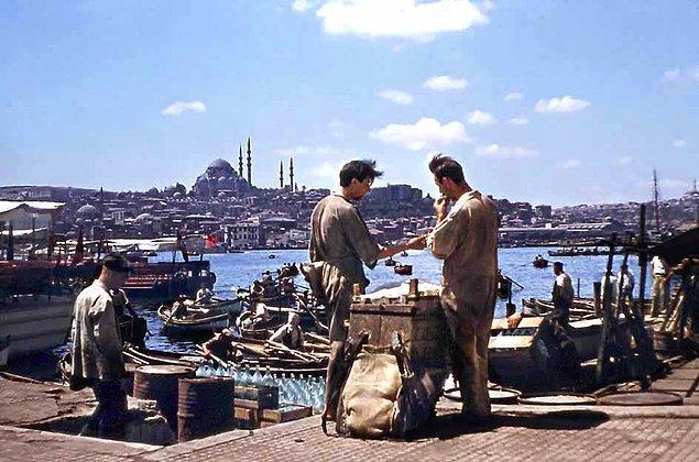 9. Molada iki hamal, İstanbul, 1954.