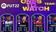 Ronaldo'nun da Bulunduğu OnesToWatch Kartlarının 1. Takımı, FIFA 22'ye geldi!