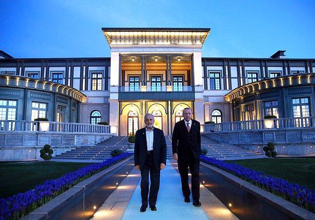 Cumhurbaşkanı Erdoğan'la buluşmuştu