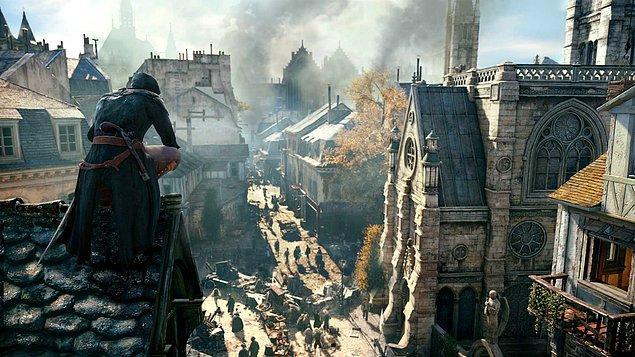 7. Assassin's Creed Unity