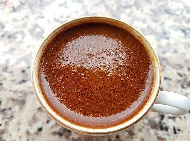 35. Güzel bir yemek üstüne keyif yapmak için Mandabatmaz Türk Kahvesi...