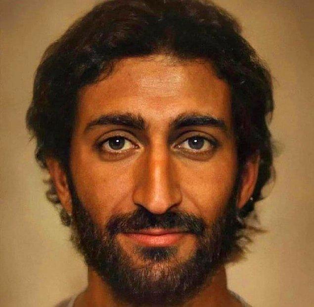 13. Hazreti İsa bugün yaşasaydı, yaşadığı coğrafya, etnik kimliği ve ona dair anlatılanlar bir araya toparlandığında böyle biri olurdu.