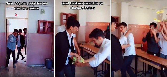 O olaydan sonra ise TikTok'ta çay dağıtma videoları gündem olmaya başladı.