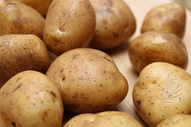 5. Patates ve yoğurt