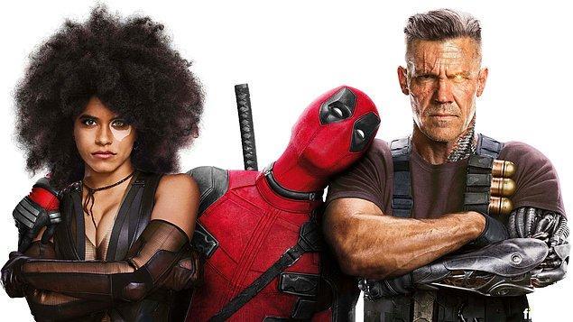 12. Deadpool 2 -IMDb: 7.7