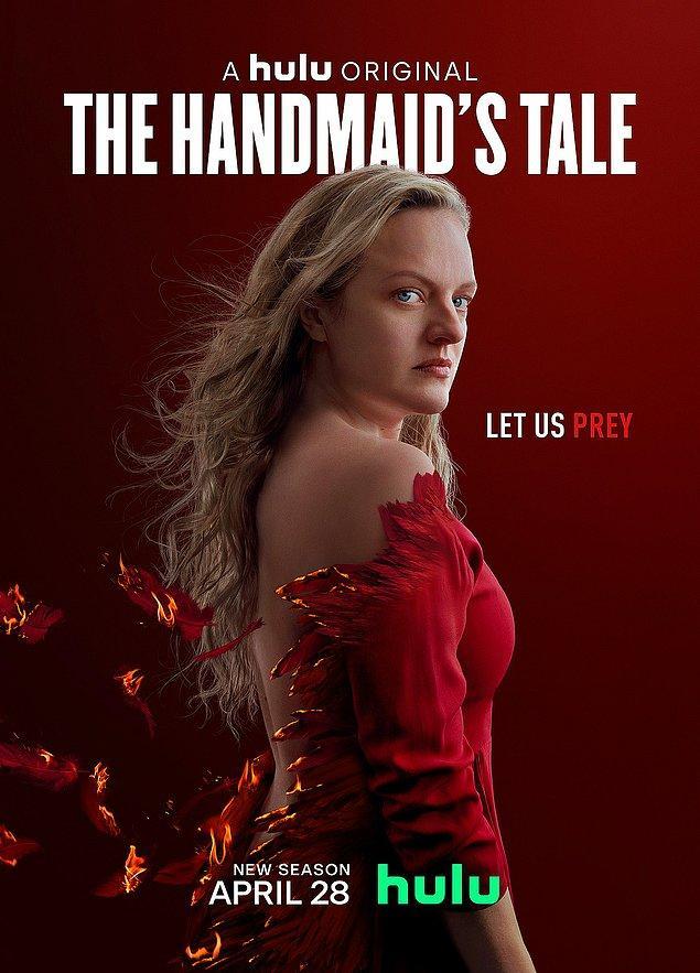2. The Handmaid's Tale (Damızlık Kızın Öyküsü) - IMDb: 8.4