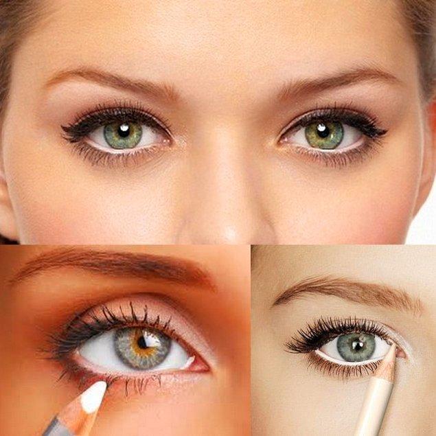 3. Gözlerinizin daha parlak ve sağlıklı durmasını istiyorsanız nasıl makyaj yaptığınızla ilgilenmeyen her zaman kullanabileceğiniz bir önerimiz var.