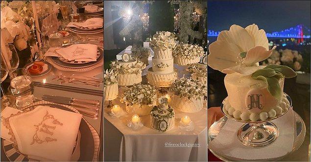 Törenden küçük detayları, kayınvalide Arzu Sabancı Instagram hesabında paylaştı.