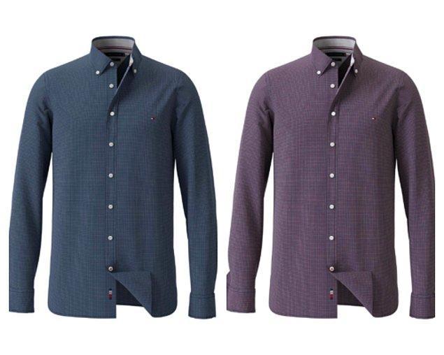 1. Açılışı gömlekle yapmazsak ağlarlardı. Tommy Hilfiger gömlek.