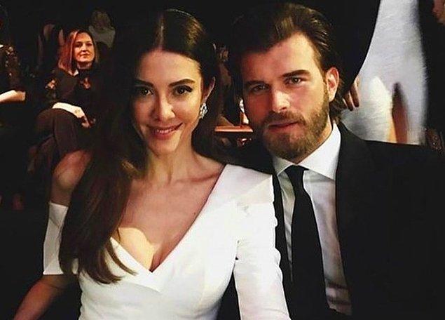 6. Kıvanç Tatlıtuğ'un paylaşımı Instagram'ı bir miktar sallayınca eşi Başak Dizer de 'Kıskandım' yorumuyla kendi fotoğraflarını paylaştı.