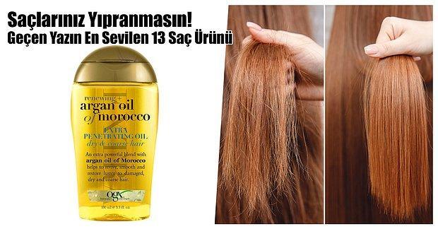 Saçlarınız Yıpranmasın! Geçen Yazın En Sevilen 13 Saç Ürünü