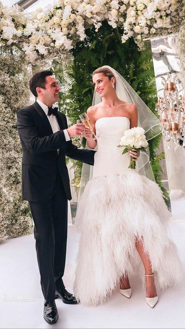 Bu arada... Bizce baya tatlı olmuş! Arzu Hanım'ın dediği gibi, esas gelinliği düğünde göreceğiz!