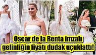 Esas Gelinlik Düğünde! Hacı Sabancı ile Evlenen Nazlı Kayı'nın Tartışılan Gelinliğinin Fiyatı Belli Oldu