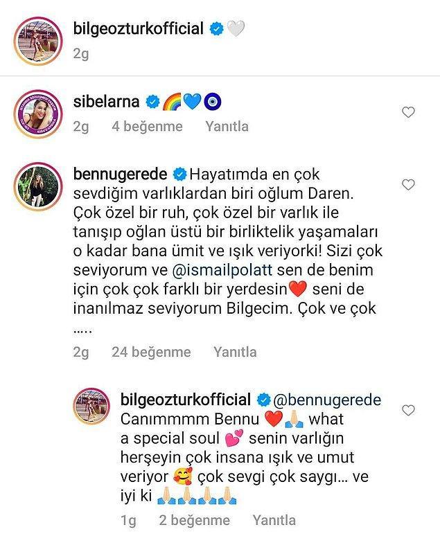 Daren'in annesi Bennu Gerede ile Bilge Öztürk arasındaki şu mesajlaşma ise bu habere damgasına vurdu!