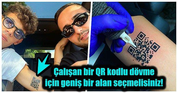 Restoranlardan Aşı Sertifikasına Kadar Her Alanda Kullanılan QR Kodlarla Yapılan Dövmeler