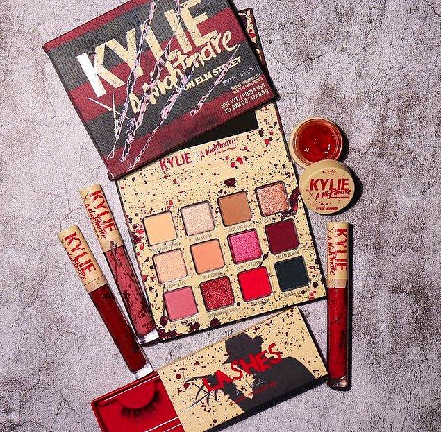 Malum cadılar bayramı yaklaşıyor. Bu sebeple Kylie Cosmetics ünlü korku filmi Elm Sokağı Kâbusu temasını ürünlere taşıyacak.