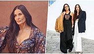 Devasa Penis Heykelinin Önünde Verdiği Pozla 'Sanatı Takdir Ettiğini' Söyleyen Demi Moore Instagram'ı Salladı!