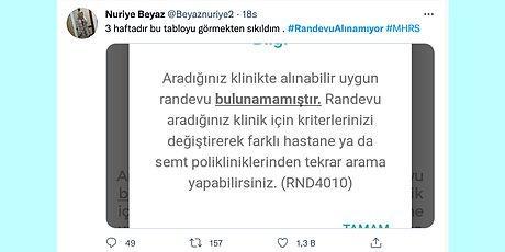 Hastane Kuyruklarının Yerini Aylarca Süren Sıralar Aldı! MHRS'den Randevu Alınamaması Twitter'ın Gündeminde