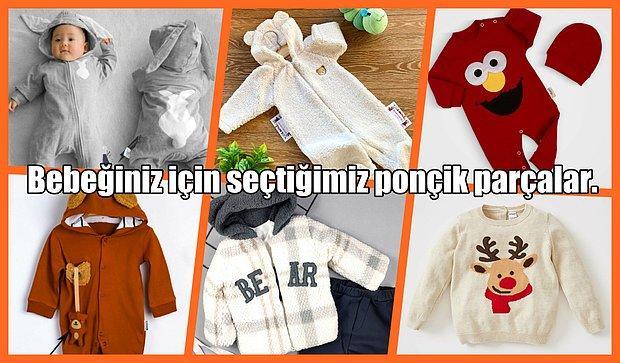 Bebek Giyiminde Tercih Edilen Birbirinden Şirin 12 Parça