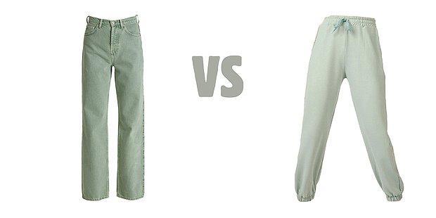 Tarafını Seç: Pantolon mu? Eşofman mı?