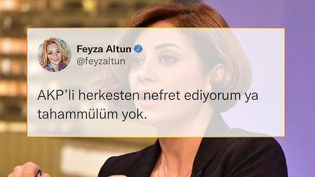 Avukat Feyza Altun'dan Olay Yaratan Tweet: 'AKP'li Herkesten Nefret Ediyorum'