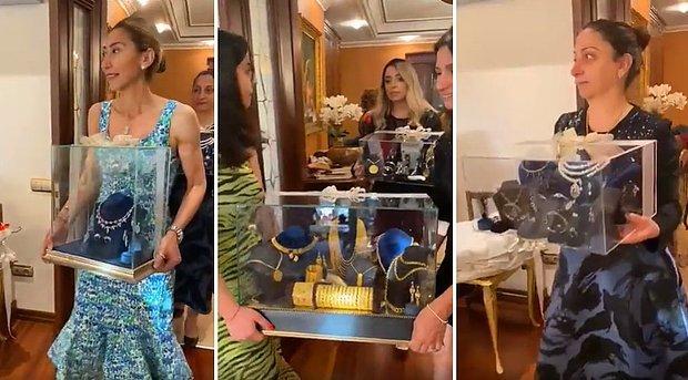 Mevlüt Çavuşoğlu'nun Yeğenine Düğün Öncesi Gelen Hediyeleri Gösterdiği İddia Edilen Video Yok Artık Dedirtti