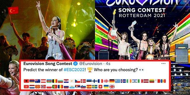 Bu Yıl da Katılmıyoruz! 2022'de Düzenlenecek Olan Eurovision Sahnesinde Yer Alacak Ülkeler Açıklandı