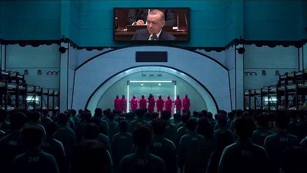 Bir 'Squid Game' Videosu da Türkiye İşçi Partisi'nden: 'Bu Oyun Bozulacak'