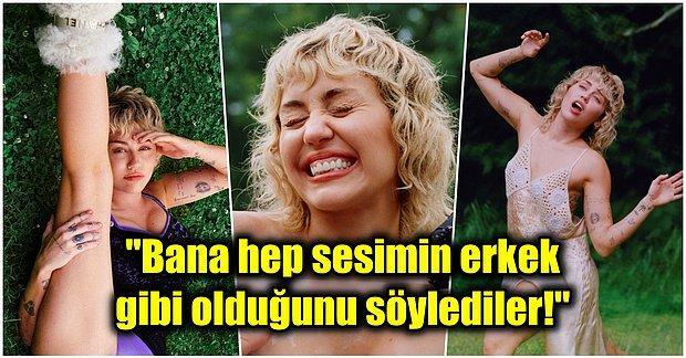 Sahte Meme Uçlarından Ayı Kostümüne... Ünlü Şarkıcı Miley Cyrus Üstsüz Pozlarıyla Gündem Oldu!