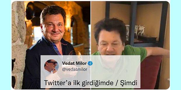 İlk Flört Denemesinden Vedat Milor'un İbretlik Değişimine Twitter'da Son 24 Saatin Viral Tweetleri