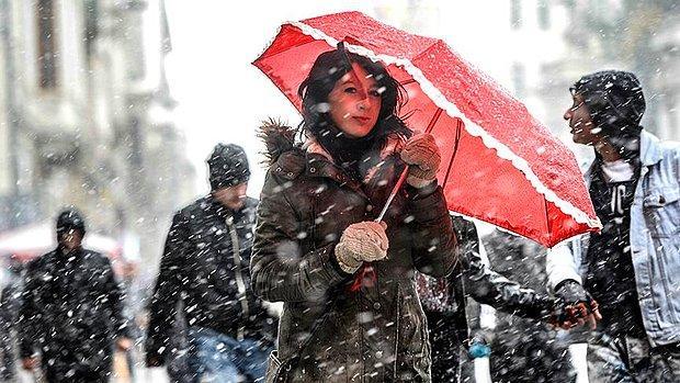 Meteoroloji Bu Bölgeleri Uyardı: Kar Geliyor!