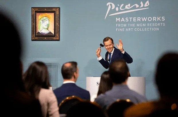 Picasso'nun Eserleri Açık Arttırmaya Çıkartıldı: Satış 110 Milyon Doları Geçti!